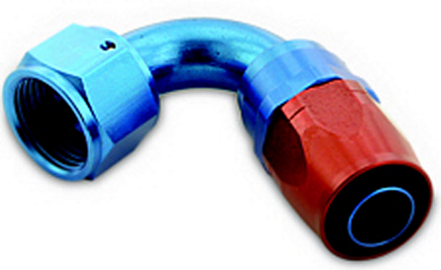 Hose End #8 120 Degree Swivel