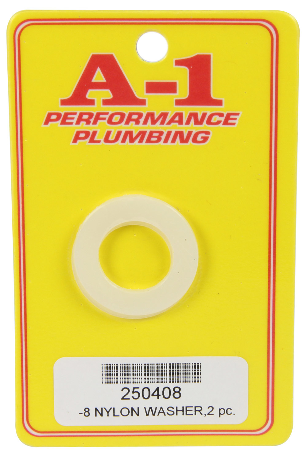A-1 Products 250408 Sealing Washer, 8 AN, Nylon, Pair
