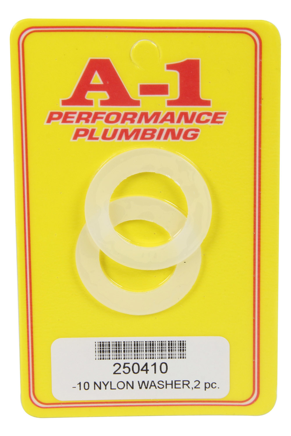 A-1 Products 250410 Sealing Washer, 10 AN, Nylon, Pair