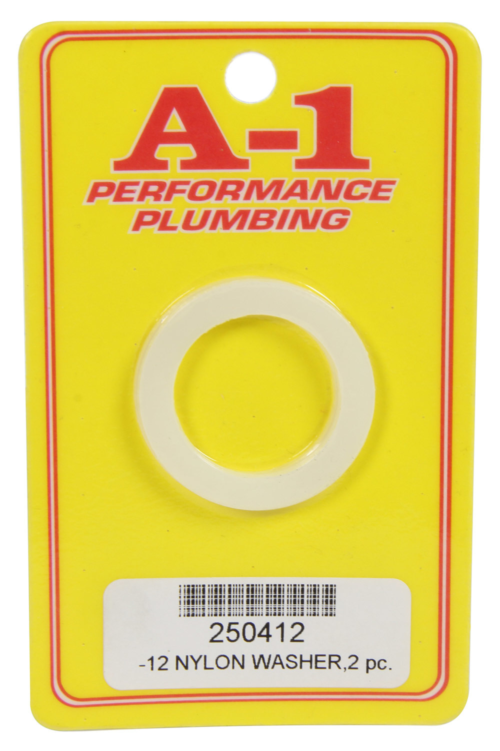 A-1 Products 250412 Sealing Washer, 12 AN, Nylon, Pair