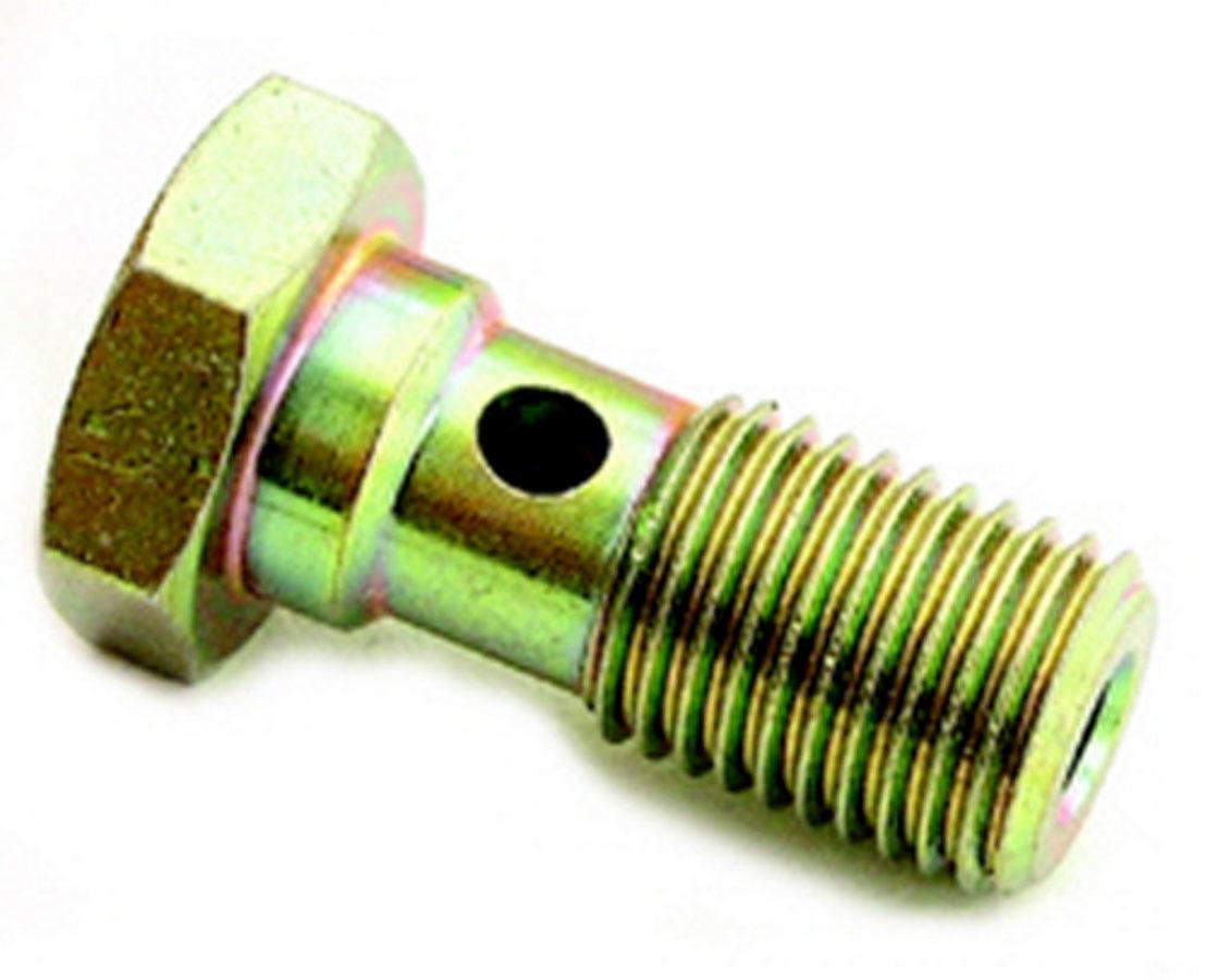 A-1 Products 77503 Banjo Bolt, Single Banjo, 3/8-24 in Thread, Steel, Cadmium, Each