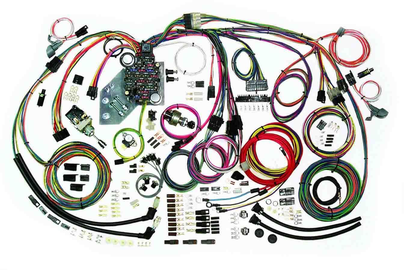 American Autowire 500467 Car Wiring Harness, Classic Update, Complete, Chevy 1947-55, Kit