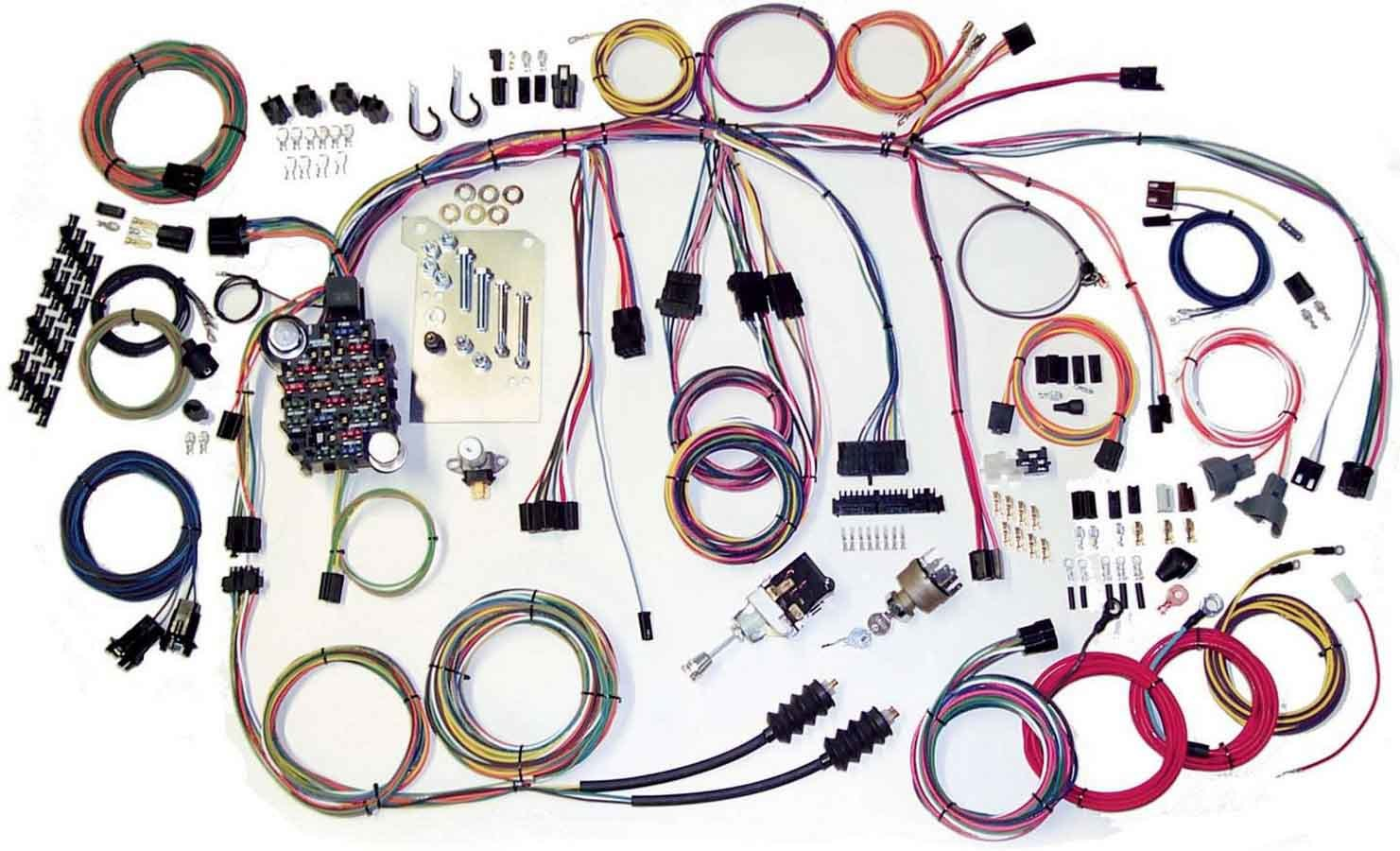 American Autowire 500560 Car Wiring Harness, Classic Update, Complete, Chevy Truck 1960-66, Kit