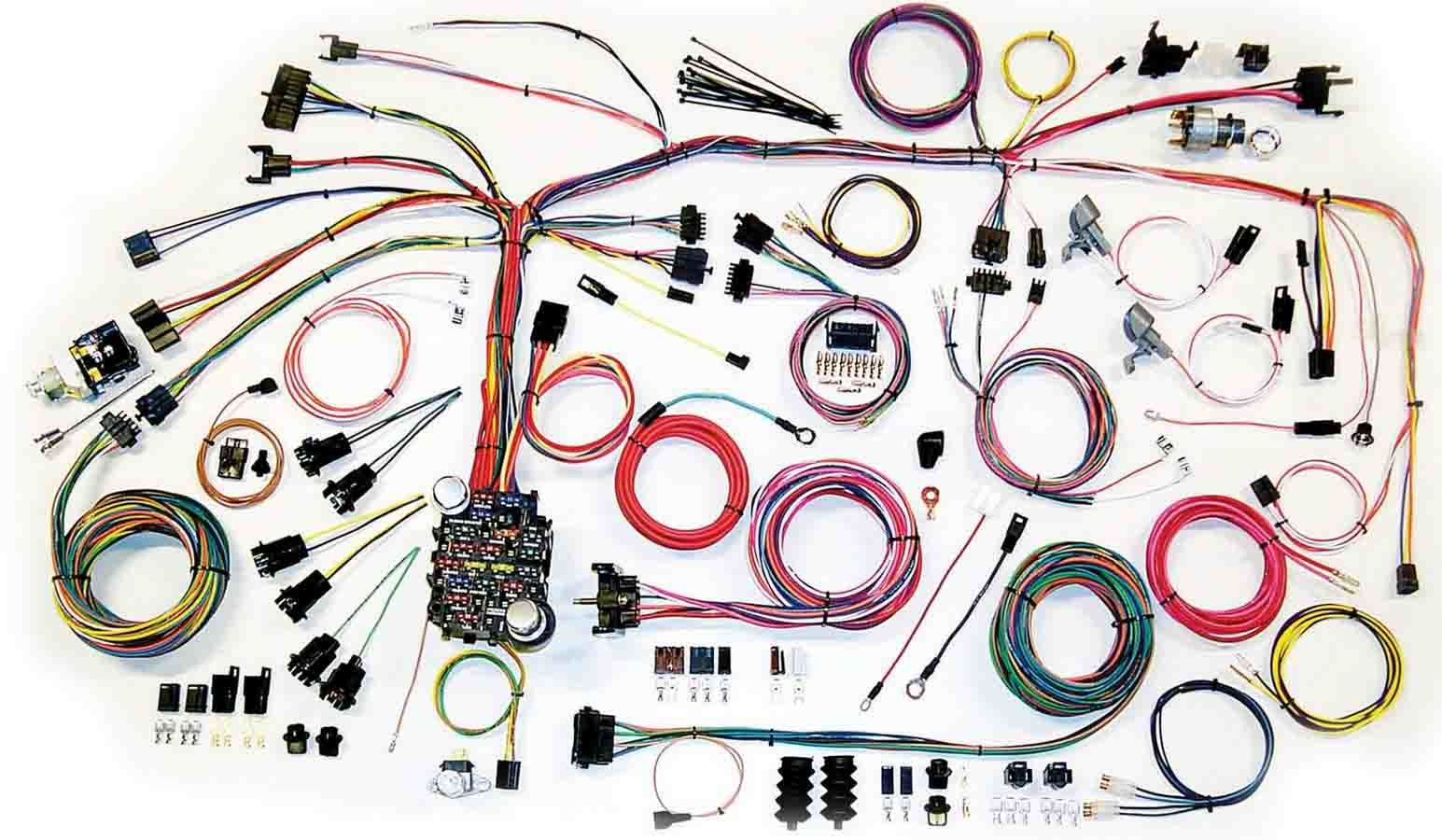 American Autowire  500661 Car Wiring Harness, Classic Update, Complete, Camaro 1967-68, Kit