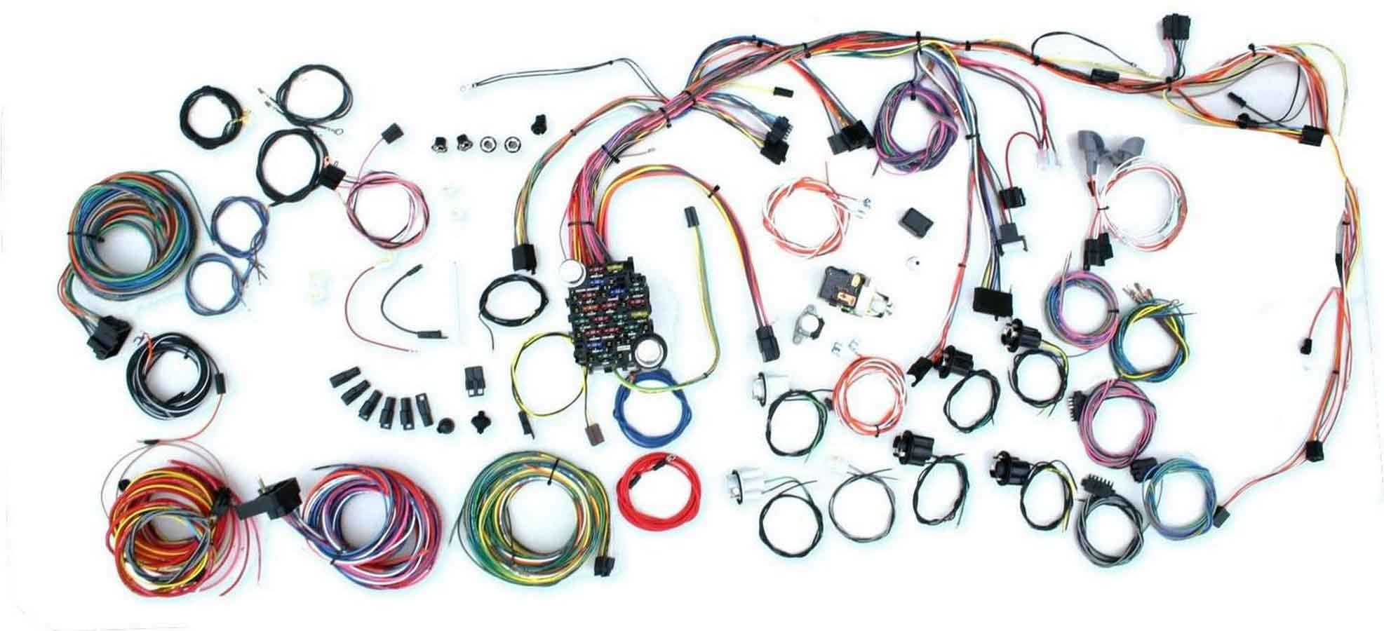 American Autowire 500686 Car Wiring Harness, Classic Update, Complete, Camaro 1969, Kit