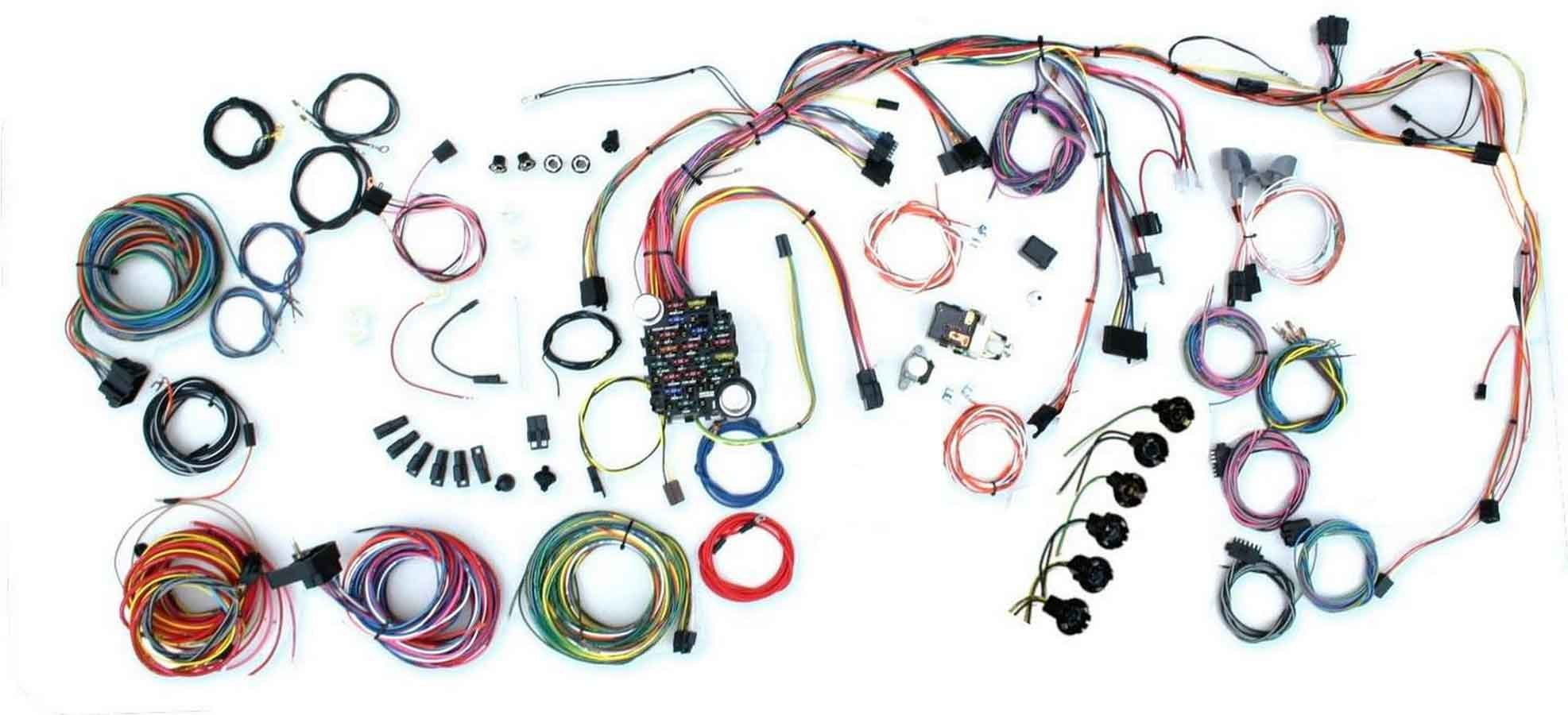 American Autowire 500878 Car Wiring Harness, Classic Update, Complete, Nova 1969-72, Kit