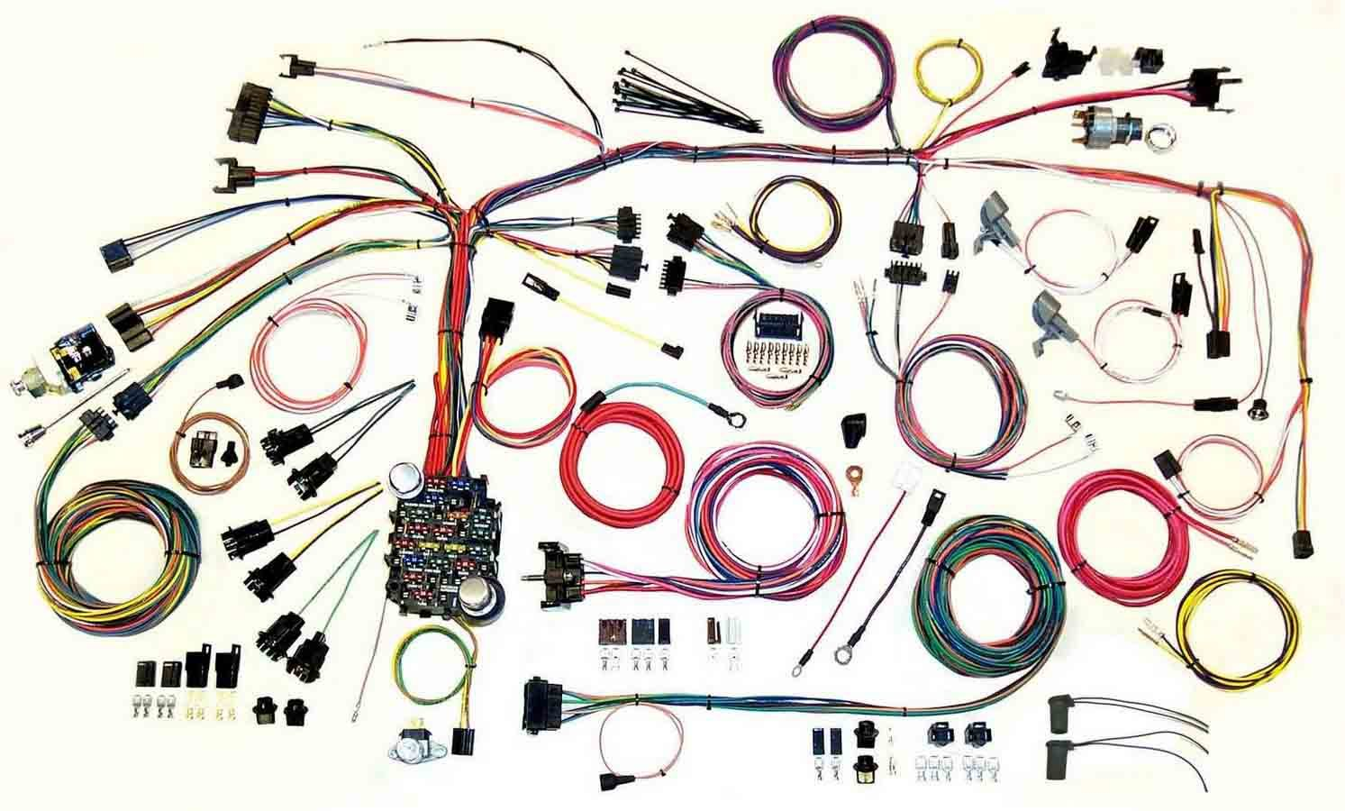 American Autowire 500886 Car Wiring Harness, Classic Update, Complete, Firebird 1967-68, Kit
