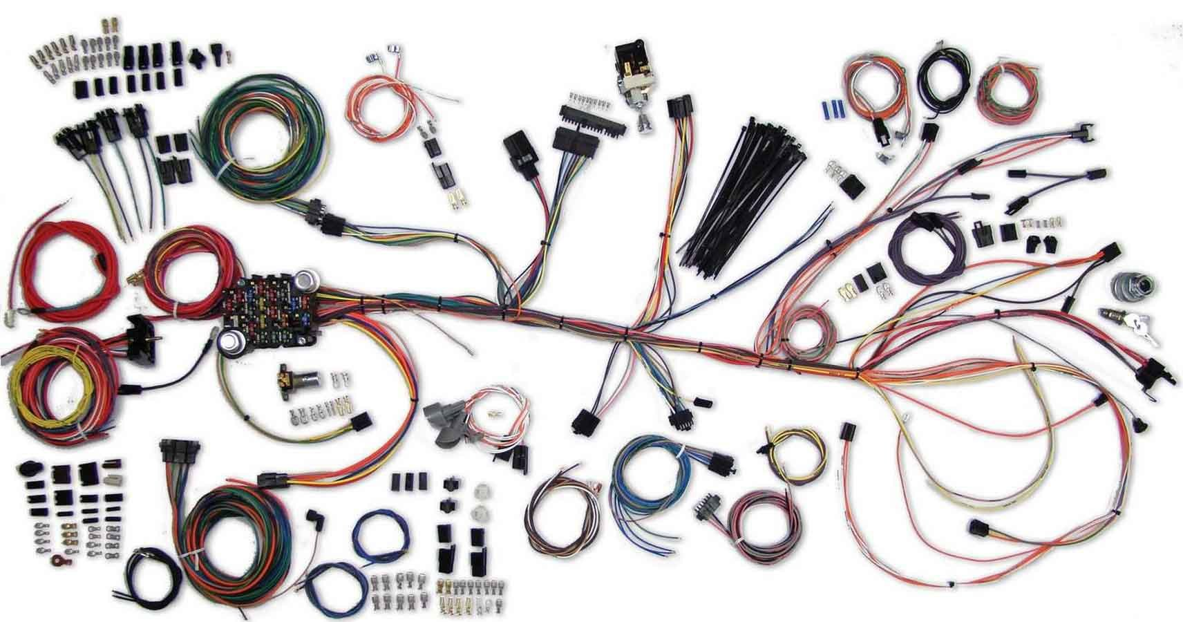 American Autowire 500981 Car Wiring Harness, Classic Update, Complete, GM A-Body 1964-67, Kit