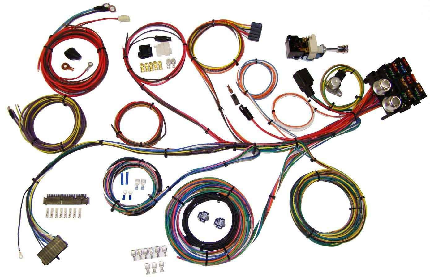 American Autowire 510004 Power Plus 13 Integrated Fuse Box System