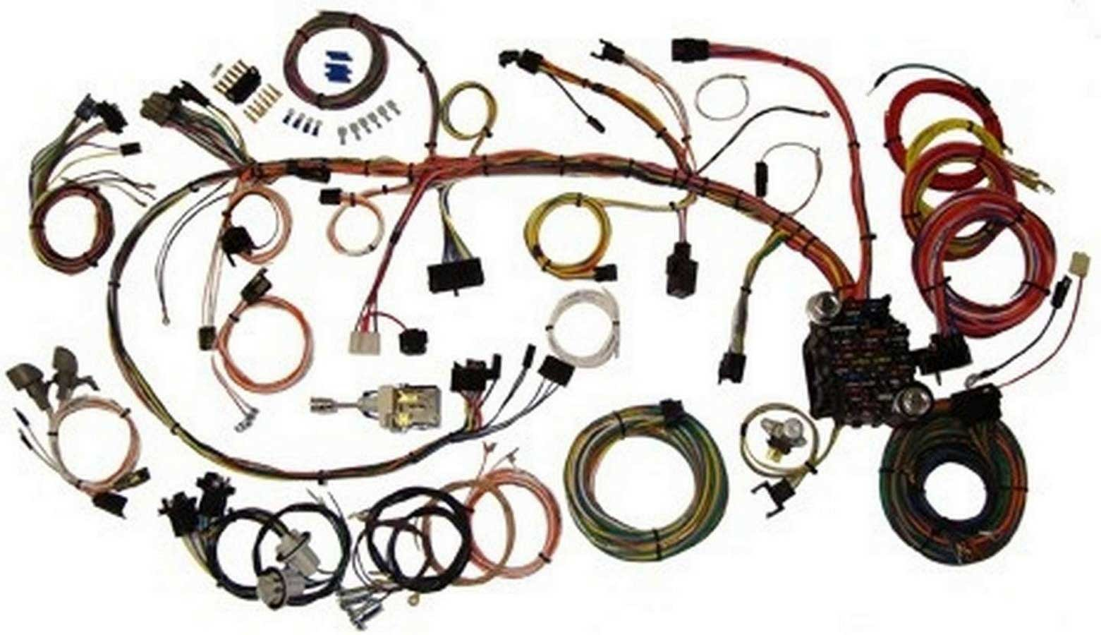 American Autowire 510034 Car Wiring Harness, Classic Update, Complete, Camaro 1970-73, Kit