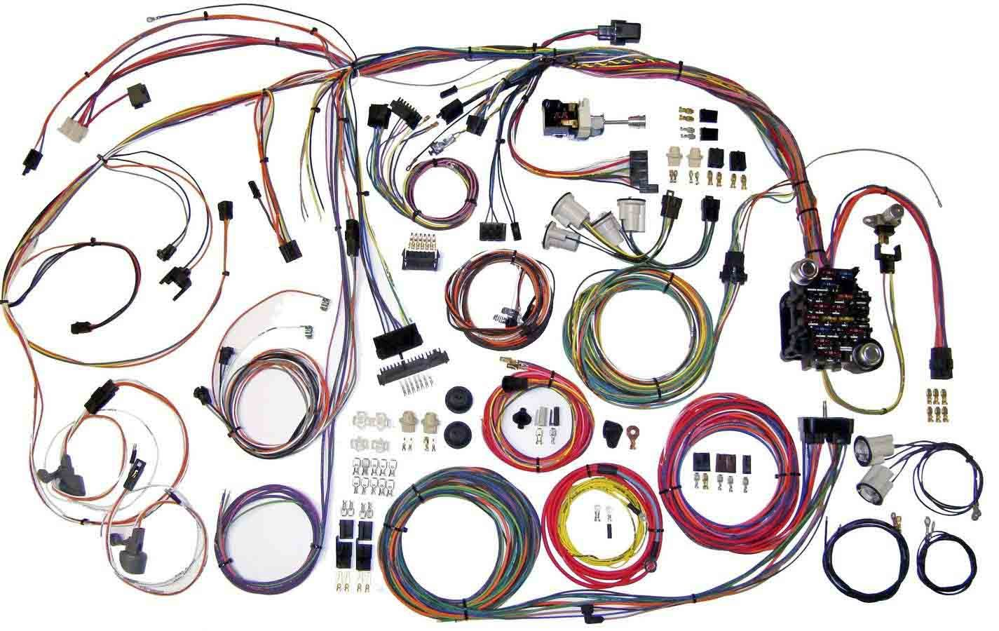 American Autowire 510105 Car Wiring Harness, Classic Update, Complete, GM A-Body 1970-72, Kit