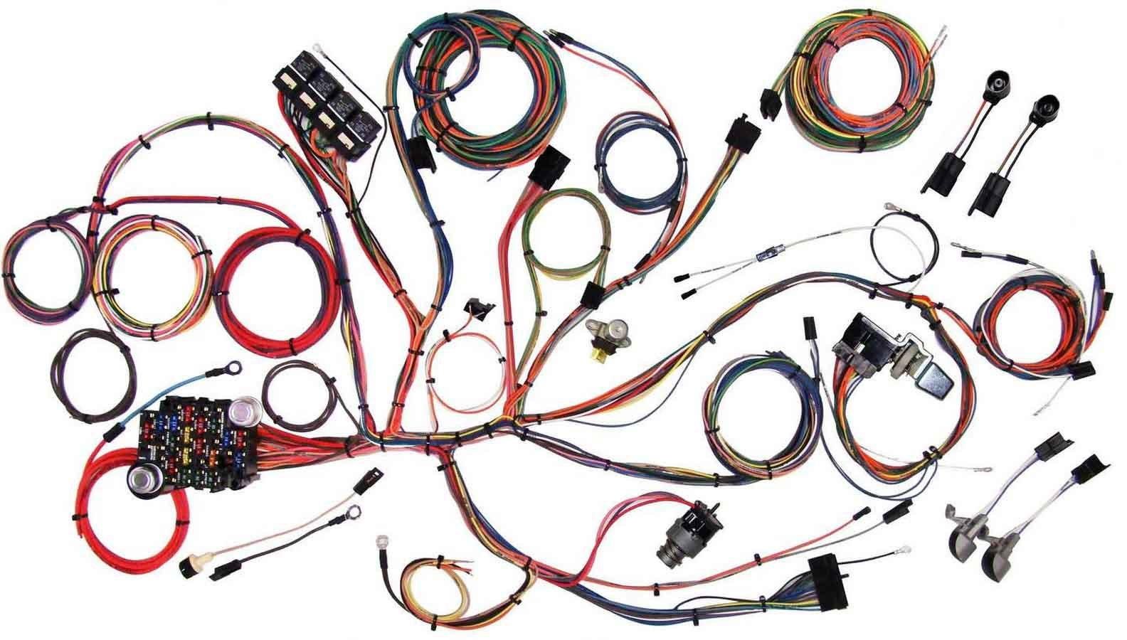 American Autowire 510125 Mustang 1964-66 Classic Update Wiring Harness