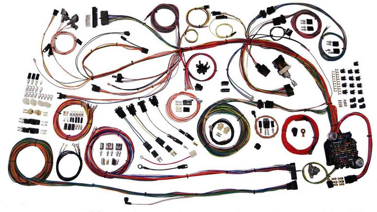 American Autowire 510158 Car Wiring Harness, Classic Update, Complete, GM A-Body 1968-69, Kit