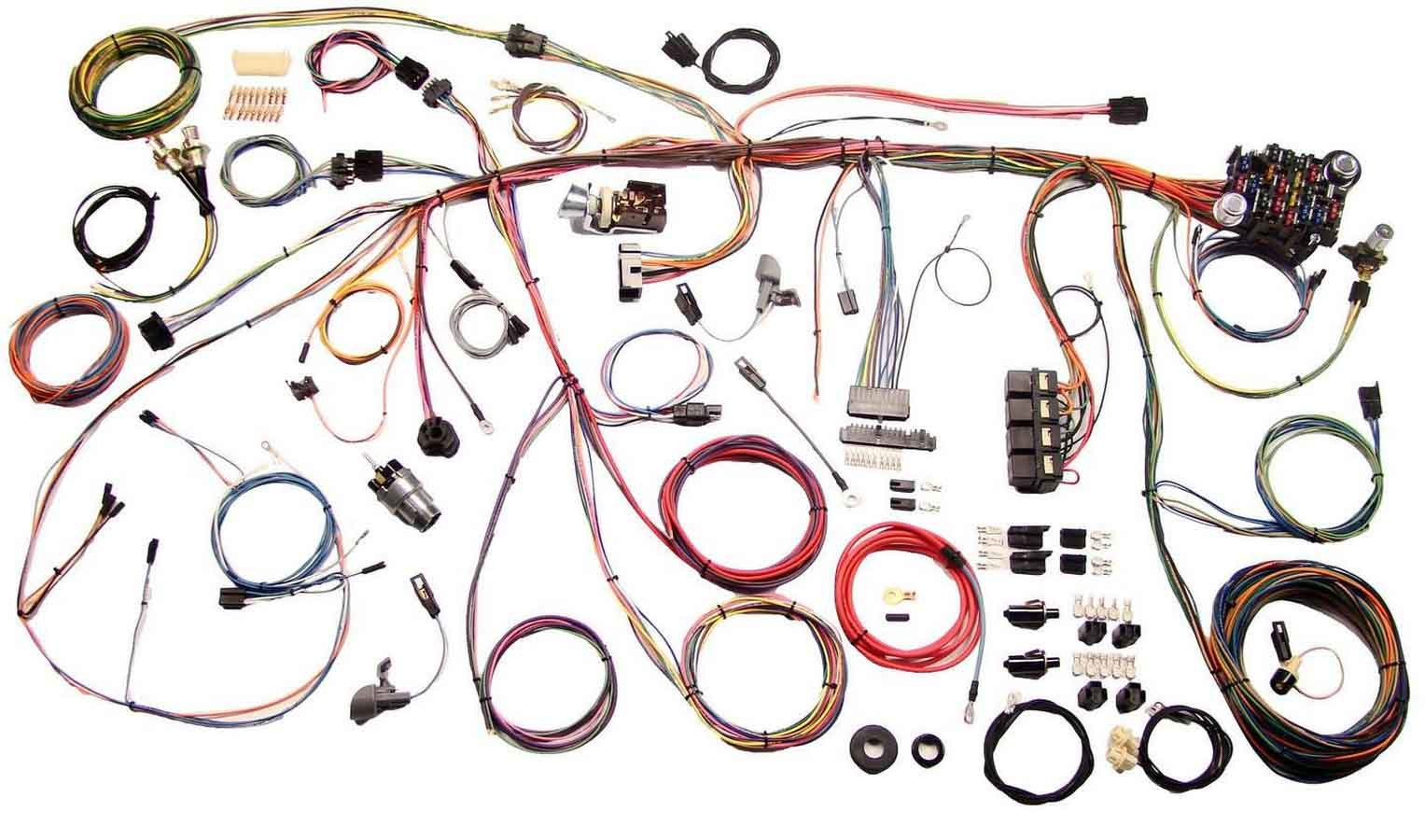 American Autowire 510177 Car Wiring Harness, Classic Update, Complete, Mustang 1969, Kit