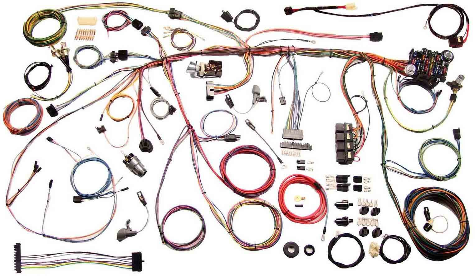 American Autowire 510243 Car Wiring Harness, Classic Update, Complete, Mustang 1970, Kit