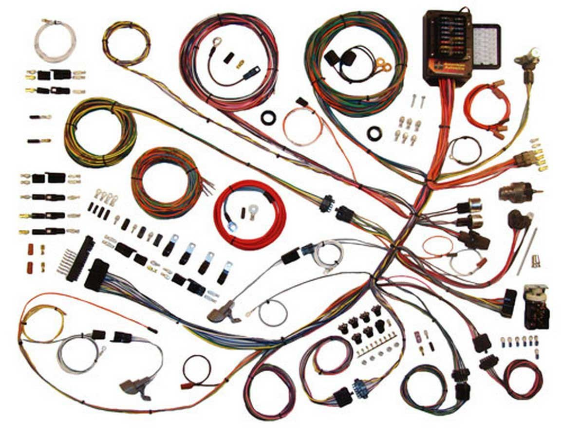 American Autowire 510260 Car Wiring Harness, Classic Update, Complete, Ford Truck 1961-66, Kit
