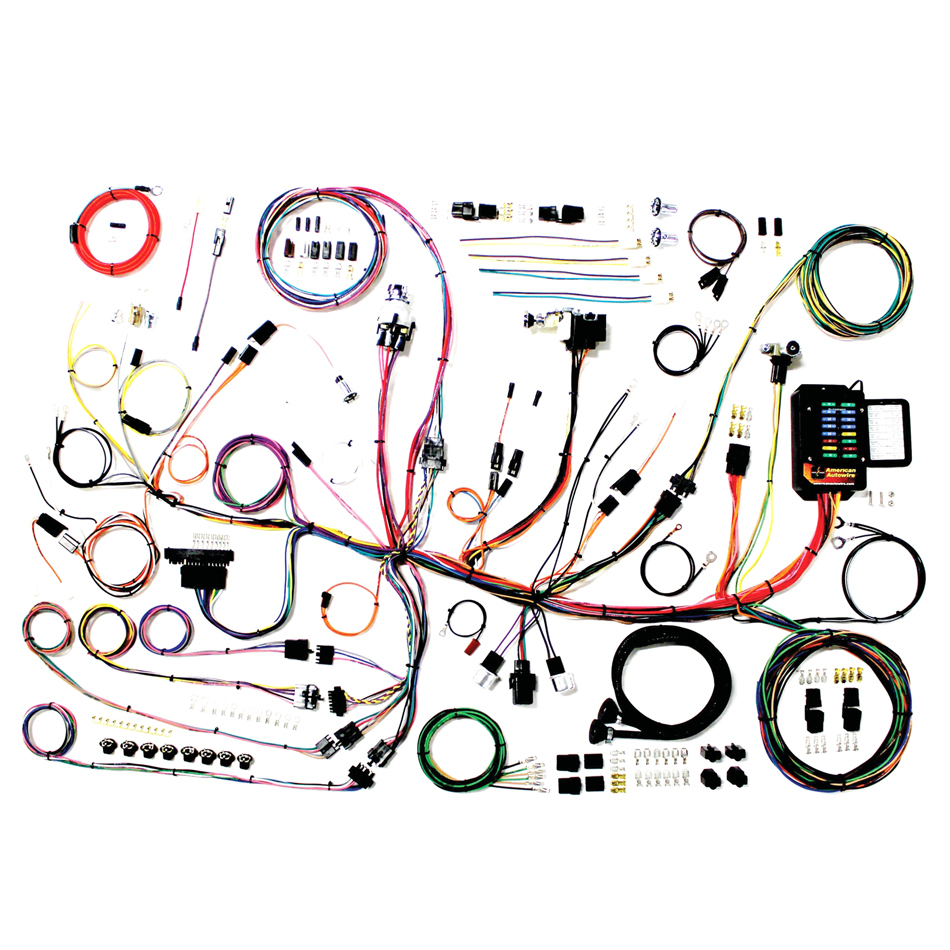 American Autowire 510267 Car Wiring Harness, Classic Update, Complete, Chevy Corvette 1953-62, Kit