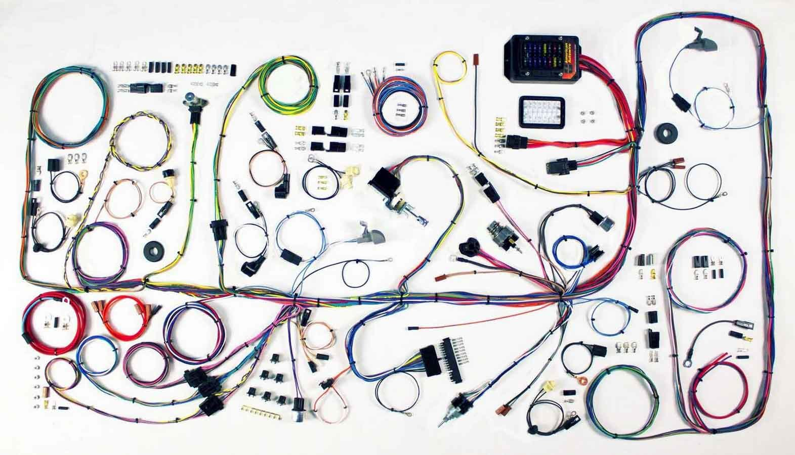 American Autowire 510317 Car Wiring Harness, Classic Update, Complete, Bronco 1966-77, Kit