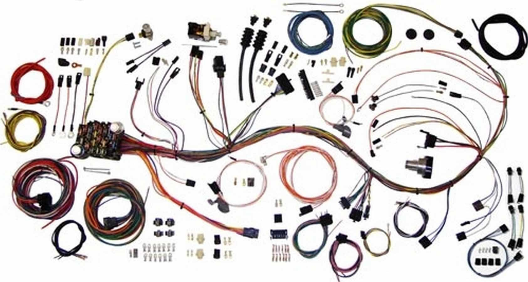 American Autowire 510333 Car Wiring Harness, Classic Update, Complete, Chevy Truck 1967-68, Kit