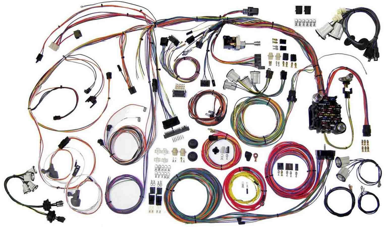 American Autowire 510336 Monte Carlo 1970-72 Classic Update Wiring Harness