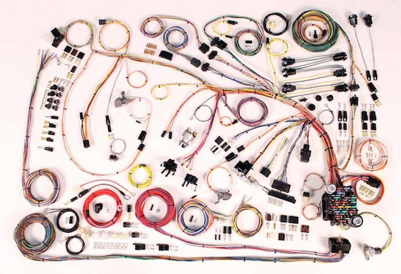 American Autowire 510372 Impala 1966-68 Classic Update Wiring Harness
