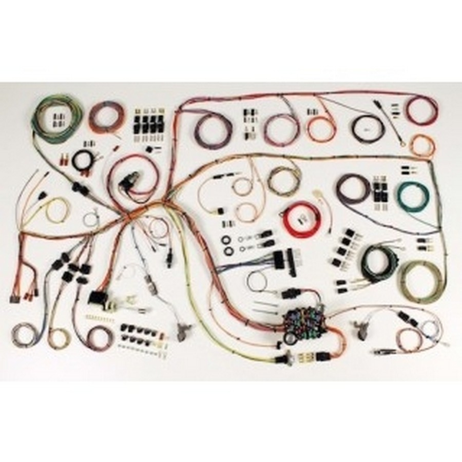 American Autowire 510379 Car Wiring Harness, Classic Update, Complete, Falcon 1960-64 / Comet 1960-65, Kit