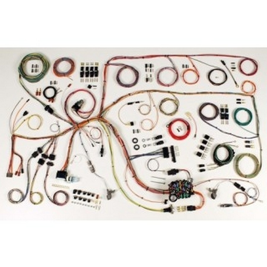American Autowire 510386 Car Wiring Harness, Classic Update, Complete, Falcon 1965, Kit