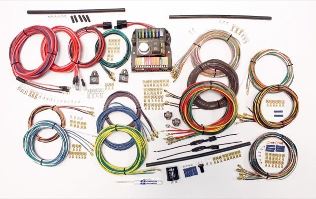 American Autowire 510419 Car Wiring Harness, Classic Update, Complete, Volkswagen Beetle 1962-74, Kit