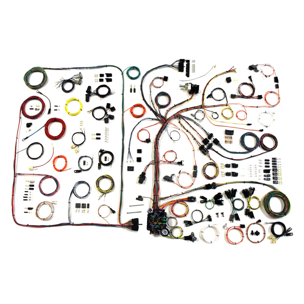 American Autowire 510540 Pontiac GTO 1968-72 Classic Update Wiring Harness