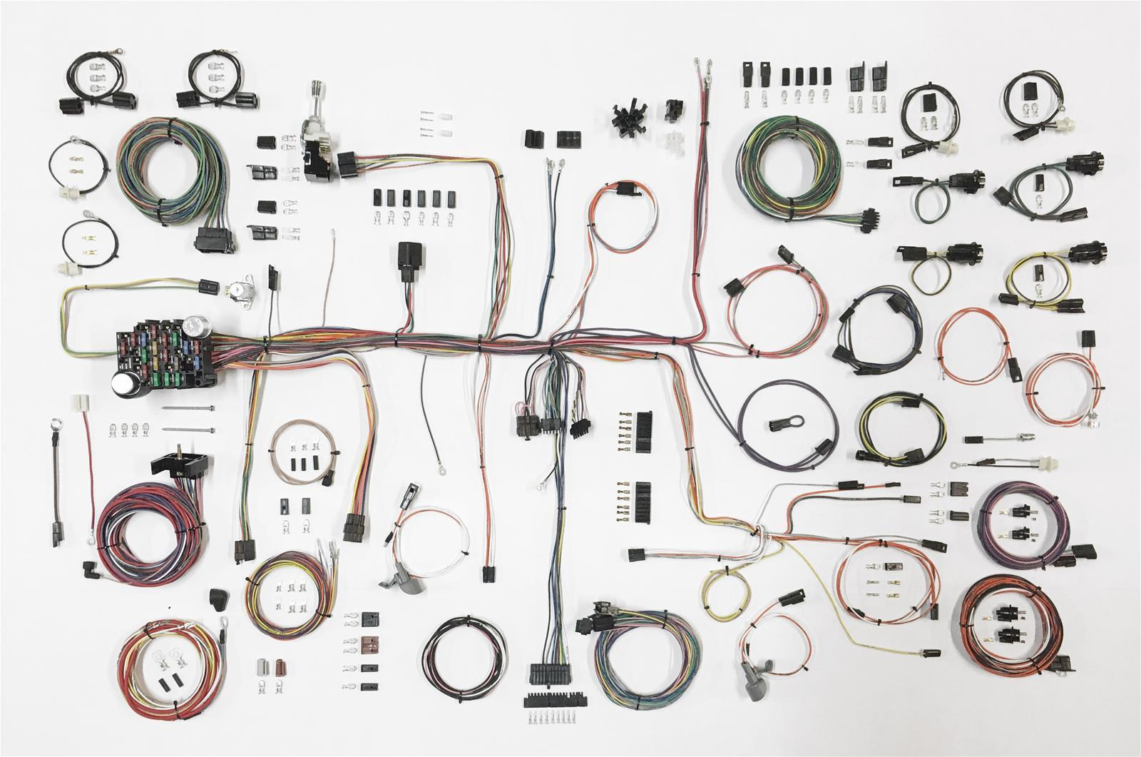 American Autowire 510645 Car Wiring Harness, Classic Update, Complete, Oldsmobile Cutlass 1968-72, Kit