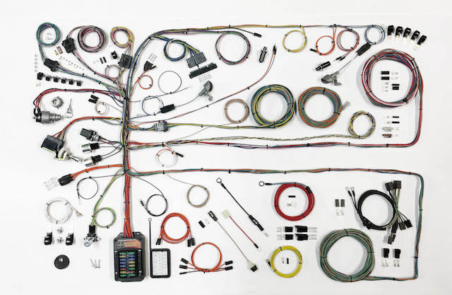American Autowire 510651 Ford Truck 1957-60 Classic Update Wiring Harness