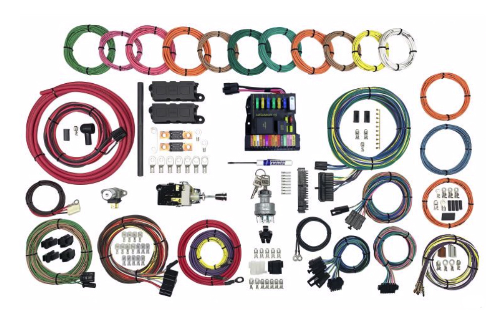 American AutoWire 510825 Highway 15 Plus Wiring Kit