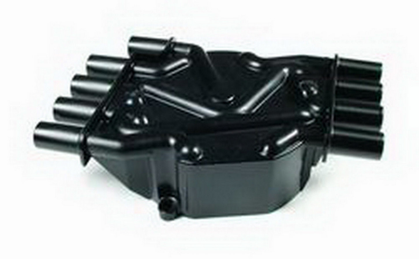 Accel 120141 Distributor Cap, Crab Style, Socket Style Terminals, Brass Terminals, Screw Down, Black, Non-Vented, Chevy V8, Each