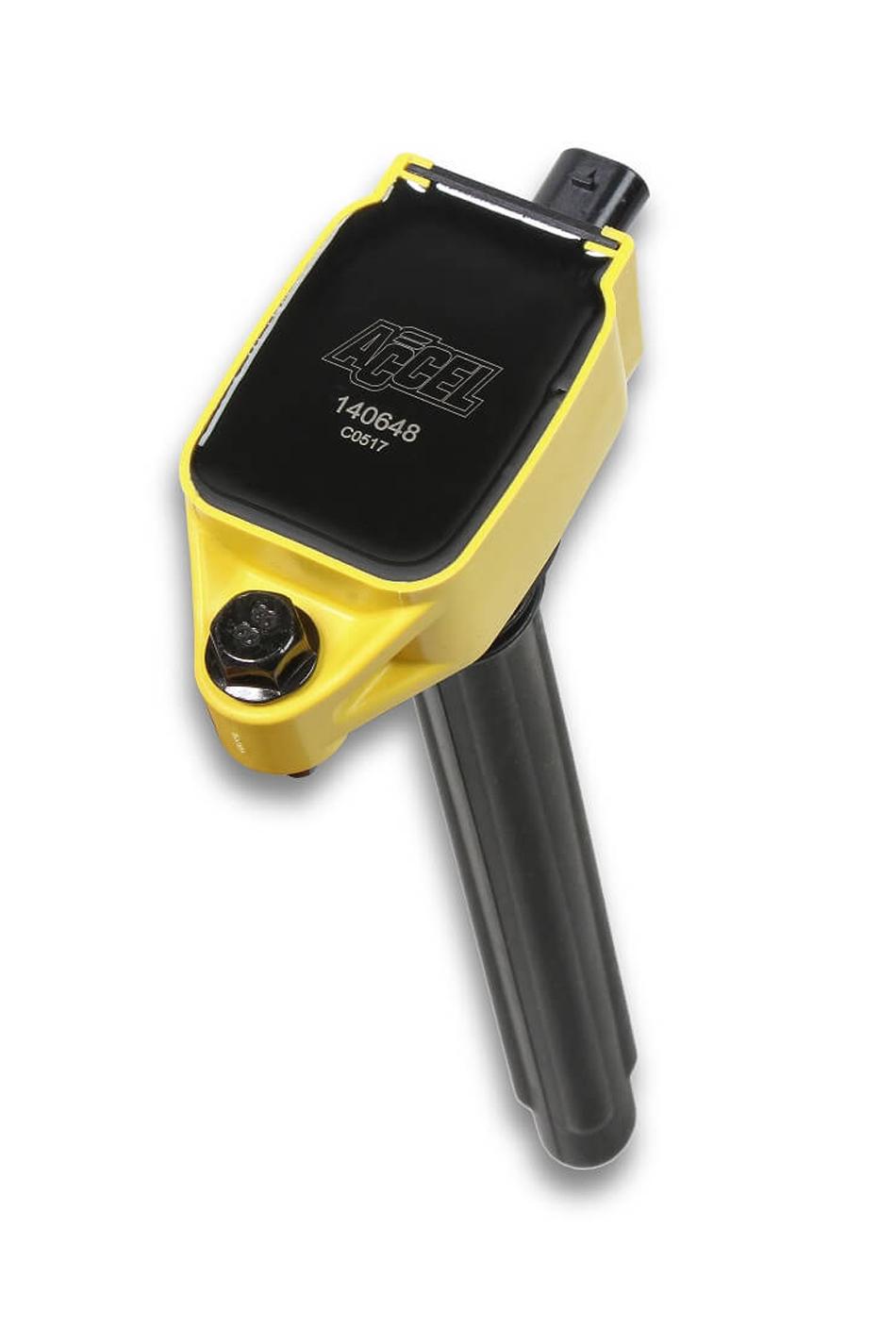Accel 140648 Ignition Coil Pack, Super Coil, Coil-On-Plug, Yellow, 3.6 L, Mopar 2011-16, Each