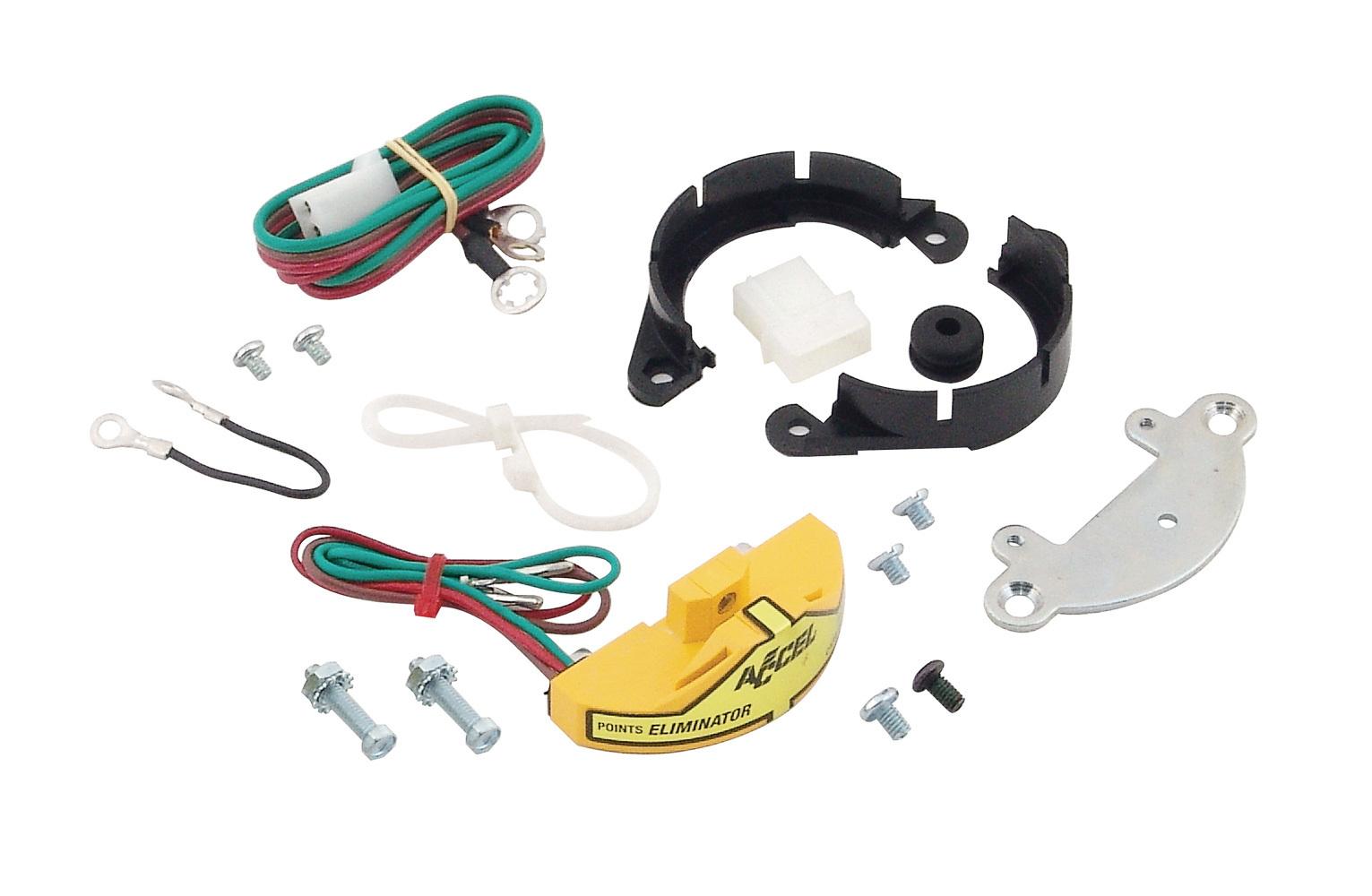 Accel 2010 Ignition Control Module, Points Eliminator Kit, GM, Kit