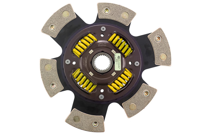 6 Pad Sprung Race Disc 10.5Dia 1.125-26 Spl