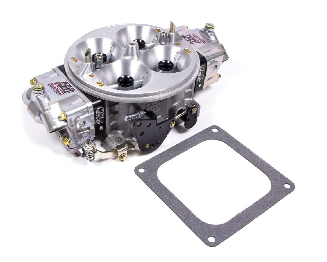 AED 1050PS-BK Carburetor, Pro Street HP, 4-Barrel, 1050 CFM, Dominator Flange, No Choke, Mechanical Secondary, Dual Inlet, Black Anodized / Chromate, Each