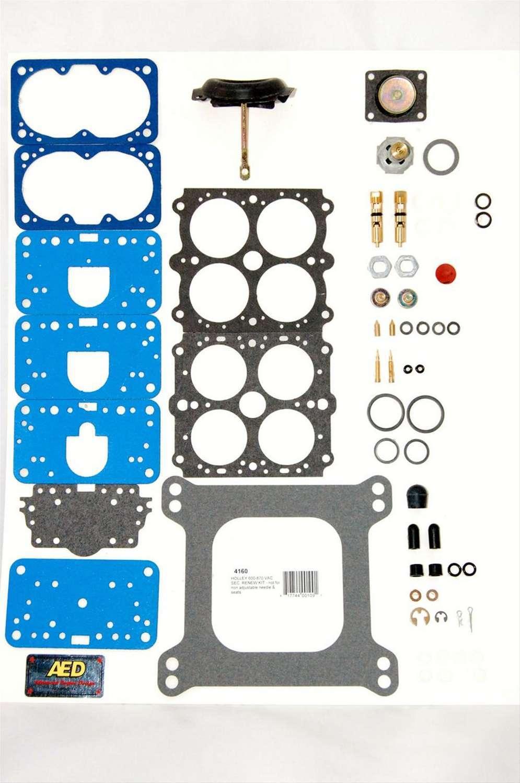 AED Performance 4160 Carburetor Rebuild Kit, Performance, Holley 4160 Carburetors, Gas, Kit