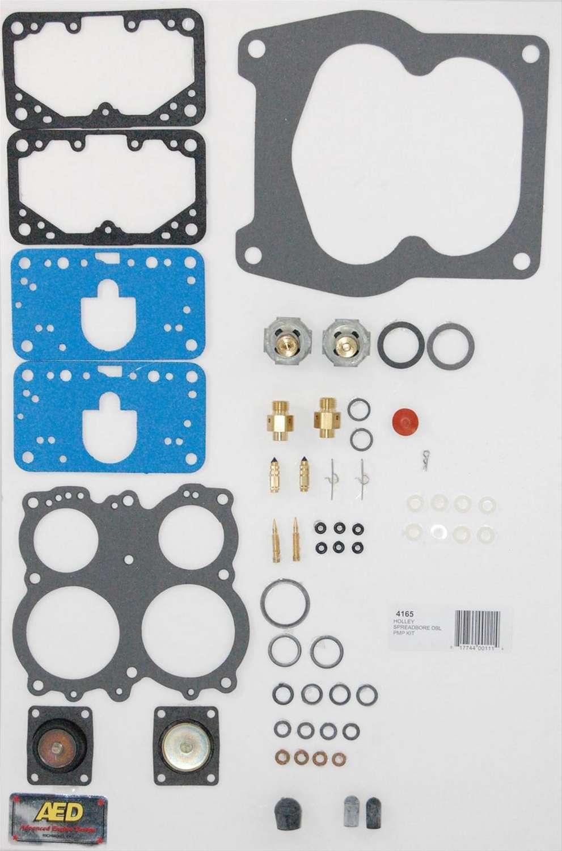 AED Performance 4165 Carburetor Rebuild Kit, Performance, Holley 4165 Carburetors, Gas, Kit