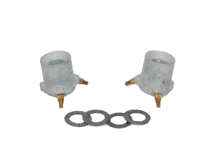 AED Performance 5542 Accelerator Pump Discharge Nozzle, 0.042 in ID, Tube Type, Holley Carburetors, Pair
