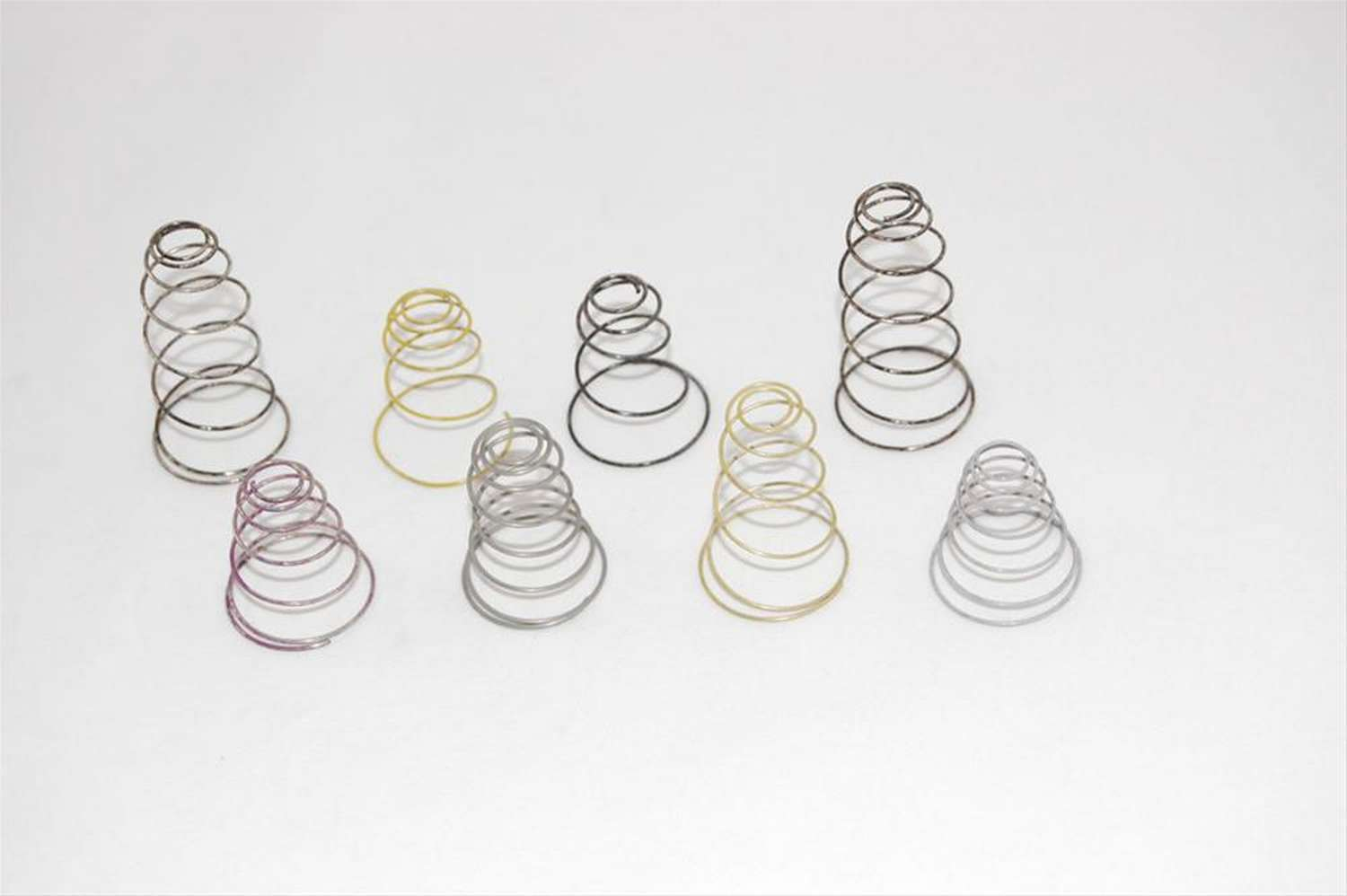 AED Performance 5580 Vacuum Secondary Spring, Steel, Color Coded, Holley Carburetors, Set of 7