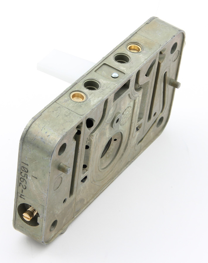 AED Performance 6550 Metering Block, Aluminum, Chromate, Primary, Holley 4150 Carburetors, Each