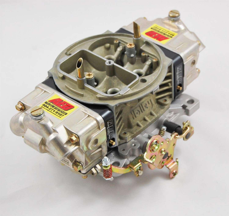 AED 750HO-BK Carburetor, HO Series, 4-Barrel, 750 CFM, Square Bore, No Choke, Mechanical Secondary, Dual Inlet, Black Anodized / Chromate, Each