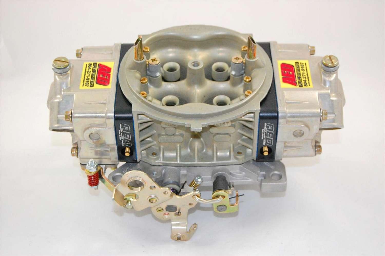 AED 750HPHO-BK Carburetor, HO Series, 4-Barrel, 750 CFM, Square Bore, No Choke, Mechanical Secondary, Dual Inlet, Black Anodized / Chromate, Each