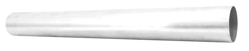 AEM 2-007-00 Air Intake Pipe, 4 in Diameter, 36 in Long, Aluminum, Polished, Universal, Each
