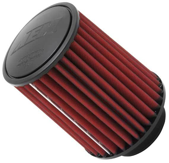 AEM 21-2057DK Air Filter Element, Dryflow, Clamp-On, Conical, 5-3/4 in Base, 4-3/4 in Top Diameter, 7 in Tall, 4 in Flange, Synthetic, Universal, Each