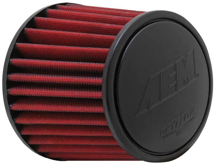 AEM 21-2110DK Air Filter Element, Dryflow, Clamp-On, Conical, 6 in Base, 5-1/8 in Top Diameter, 5-1/4 in Tall, 3-1/4 in Flange, Synthetic, Universal, Each