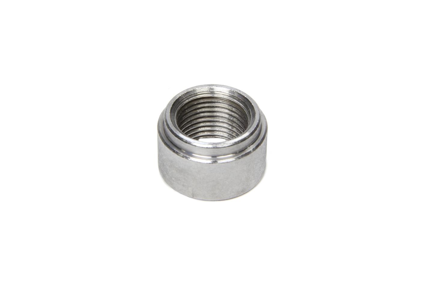 AEM 30-4005 Oxygen Sensor Bung, Weld-On, 18 mm x 1.50 Female Threads, Steel, Natural, Each