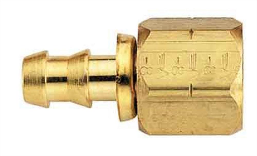 Brass Fitting -6an Socketless