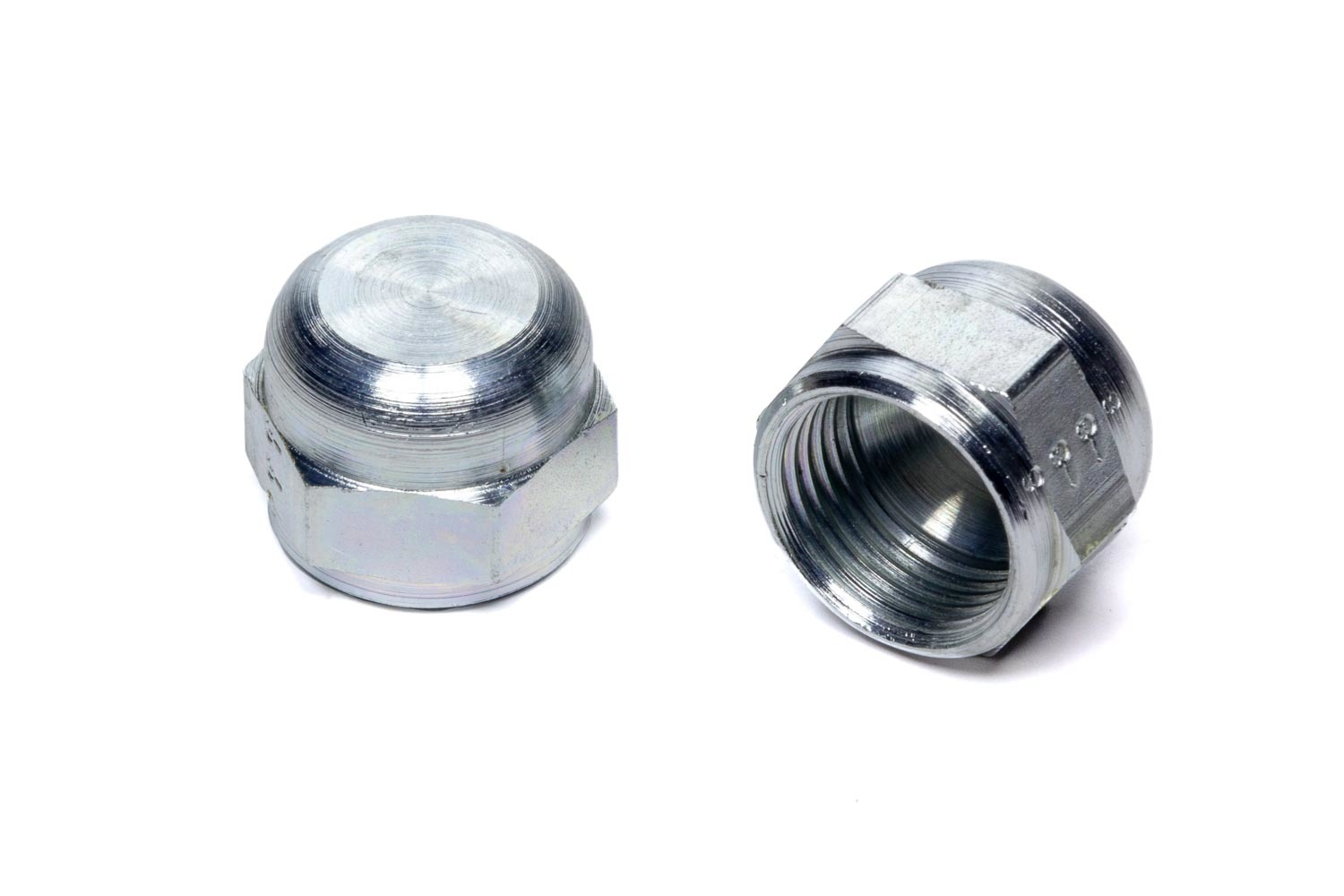 Aeroquip FBM3603 Fitting, Cap, 8 AN, Steel, Zinc Oxide, Pair